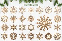 Laser Cut Files Vol.1 - 50 Snowflake Ornaments Product Image 4