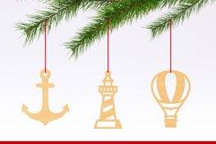 Laser Cut Files Vol.4 - 50 Summer Ornaments Bundle Product Image 4
