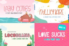 The Cute Craft Font Bundle Product Image 5