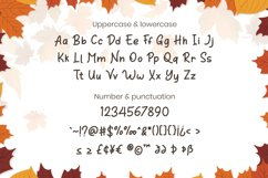 Orange Leafy - Autumn Display Font Product Image 4