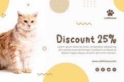 Calli Cat - Layered Display Font Product Image 4
