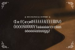 Orchard Song - Decorative Serif Font Product Image 3