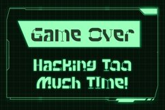 Hacklife - Tech Font Style Product Image 2