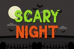Sticky Web - Spooky Horror Font Product Image 4