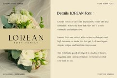 Lorean Font Family - Sans Serif Modern Style Product Image 4