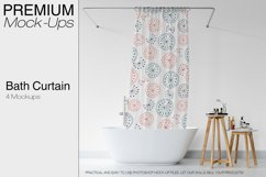 Bath Curtain Mockup Pack Product Image 1