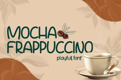 Mocha Frappuccino Playfull Font Product Image 1