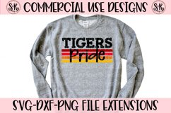 Tigers Pride SVG DXF PNG Product Image 1