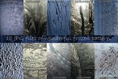 Winter windows with frost textures Product Image 3