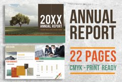 22 Page Corporate Annual Report Brochure Booklet Product Image 1