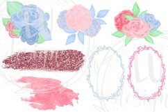 Valentine's Day Clipart, Romantic Graphics, Love Clipart Product Image 6