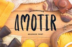 Amotir Bold Brush Display Font Product Image 1