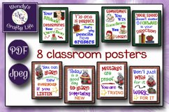 Teacher posters and classroom rules - 8x10 Jpegs & PDF files Product Image 3