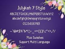 Julykeh handmade 7 Style Font Product Image 5