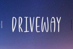 Driveway | A Fun Font Product Image 1