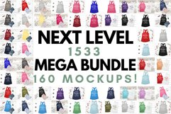 Next Level 1533 Tank Top Mockup Mega Bundle Multi Colors Product Image 1