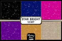 "2 Designs of 6 colours - 12"" x 12"" - Star Bright Set Product Image 2"