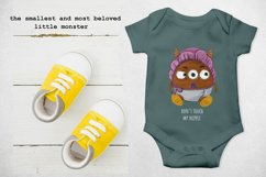 Baby little monster cute and funny Product Image 3