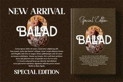 BALLAD - Stylish Sans Serif Font Product Image 4