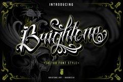 Brightone | Tattoo Script font Product Image 1