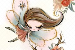 Fall Fairies Clipart Product Image 3