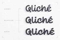 Qliché Typeface Product Image 2