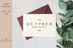 Bundle Mockup Card and Envelope in PSD and JPG | Card mockup Product Image 5