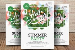 Summer Party Flyer Product Image 1