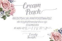 Cream Peach Product Image 5