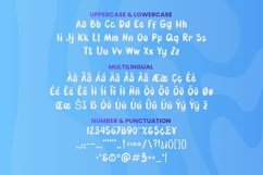 Web Font Fubble Font Product Image 3