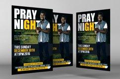 Prayer Night Church Flyer Psd Product Image 3