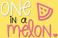 Pineapple Margarita   A Fun Font with Pineapple Doodles Product Image 4