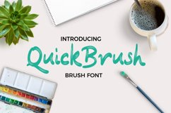 Quickbrush Font Product Image 1