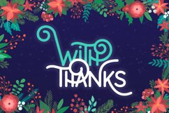 Holidays Font Duo Product Image 6