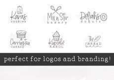 The Bakery - Handwritten Serif and Doodle Font Product Image 3