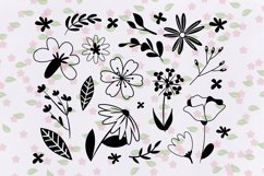 Procreate Brush stamp, Floral Stamps Brushes Product Image 3