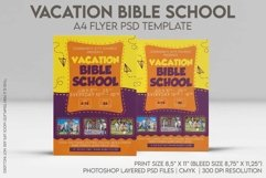 Vacation Bible School A4 Flyer PSD Template Product Image 1