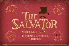 The Salvator - Vintage Font Set Product Image 1