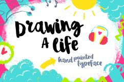 Drawing a Life - Brush Font Product Image 1