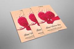 Valentines Psd Flyer Design Product Image 2