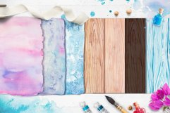 Watercolor textures Product Image 6
