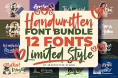 Awesome Handwritten Fonts from Perspectype Studio Product Image 1