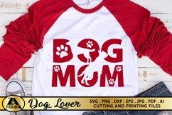 Dog Mom SVG Paw Prints SVG Dog Lover SVG Mothers Day SVG Product Image 5