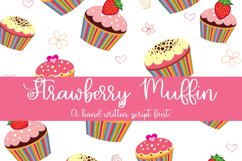 Strawberry Muffin - A Hand-Written Script Font Product Image 1