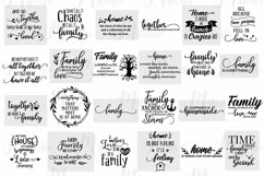 Family Quotes svg bundle Product Image 2