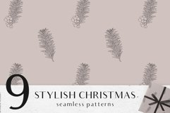Christmas digital papers - Winter seamless patterns Product Image 6