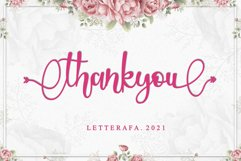 Holidate - A Lovely Font Product Image 6