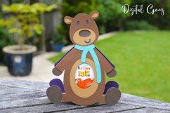 Bear, Egg holder design SVG / DXF / EPS files Product Image 4