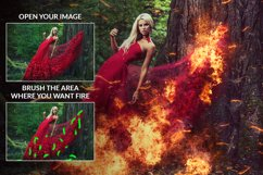 Fire Photoshop Action Product Image 4