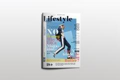 Fashion Magazine Layout Template Product Image 1